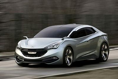 Nový designový styl Hyundaie? Studie I-Flow | Koncepty.cz
